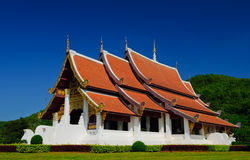 Temple in Chiangrai, Thailand Stock Photos