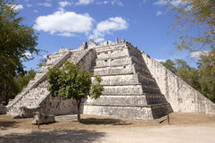 Temple at Chichen Itza. Mayan Temple at Chichen Itza Stock Image