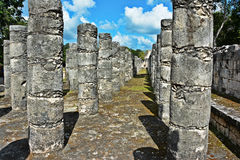 Temple - Chichen Itza - detail Stock Photography