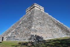 Temple at Chichen Itza Stock Photos