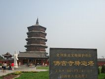 Temple in China Stock Photography