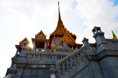 The temple in China town of Thailand Stock Photography