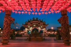 temple chinois à Georgetown Penang Image libre de droits