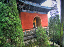Temple chinois Image stock