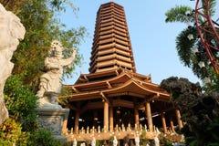 Temple chinois Images libres de droits