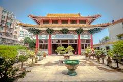 Temple chinois au Macao photos libres de droits