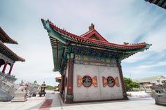 Temple chinois bouddhiste en Thaïlande photographie stock
