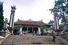 Temple chinois dans Dalat, Vietnam Photo stock