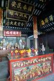 Temple chinois dans la porcelaine de Macao photographie stock