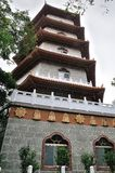 Temple chinois de pagoda chez Taiwan Photos stock
