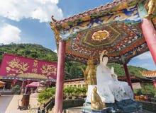 Temple chinois en Hong Kong, Chine Photo libre de droits