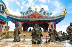 Temple chinois Pattaya Thaïlande Photo stock
