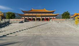 Temple chinois (Shangrila) photo libre de droits