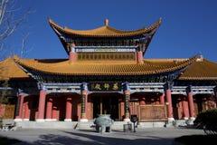 Temple chinois, temple de Chongshen Image stock
