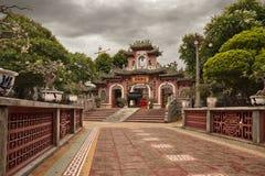 Temple chinois (Vietnam) Images libres de droits