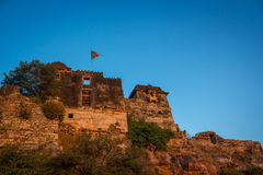 Temple at Chittor Fort Royalty Free Stock Image