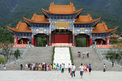 Temple ChongSheng Royalty Free Stock Image