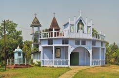 Temple chrétien dans l'Inde photos stock