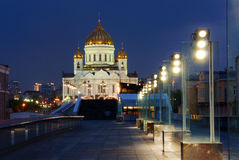 Temple of Christ Our Saviour in Moscow Royalty Free Stock Images