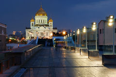 Temple of Christ Our Saviour in Moscow Royalty Free Stock Photos