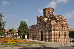 Temple of Christ Pantocrator in Nessebar. Temple of Christ Pantocrator (the Almighty) in Nessebar. Bulgaria. 13-14 century royalty free stock images