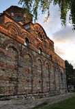 Temple of Christ Pantocrator in Nessebar. Temple of Christ Pantocrator in Nessebar at sunset. Bulgaria stock photo