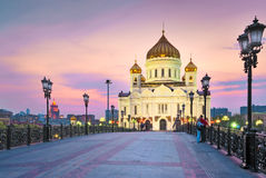The Temple Of Christ The Savior. Royalty Free Stock Image