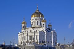 Temple of the Christ the Savior Royalty Free Stock Photos