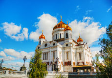 Temple of Christ the Savior in Moscow Royalty Free Stock Photo