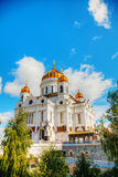 Temple of Christ the Savior in Moscow Royalty Free Stock Image