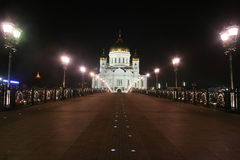 Temple of Christ the Savior in Moscow Royalty Free Stock Images