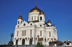 Temple of the Christ-savior. Moscow. Russia. Stock Images
