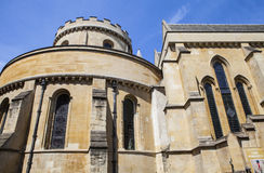 Temple Church in the City of London Stock Photography