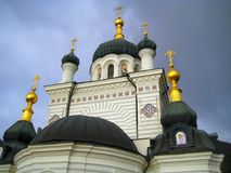 Temple, Church, Gold, Dome Royalty Free Stock Photo