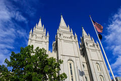 Temple of The Church of Jesus Christ of Latter-day Saints in Sal Royalty Free Stock Images