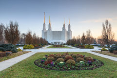 Mormon Temple LDS Washington DC Stock Photo