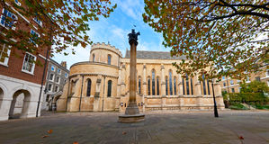 Temple Church in London Stock Image