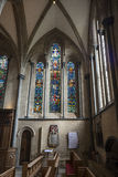 Temple Church London. Temple Church London England. Interior of South Side Stock Image
