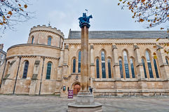 Temple Church at london, England Stock Photography