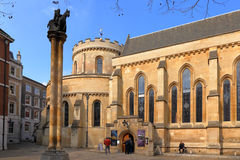 Temple church in London Royalty Free Stock Photos