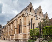 Temple Church Medieval Building London Stock Photo