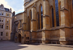 Temple Church, Medieval church built by the Knights Templar, London, UK Royalty Free Stock Images