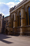 Temple Church, Medieval church built by the Knights Templar, London, UK Stock Image