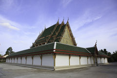 Temple church. In suratthani, thailand Stock Photos