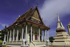 Temple church. In suratthani, thailand Royalty Free Stock Photography