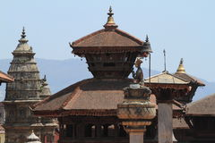 Temple City Bhaktapur Royalty Free Stock Images