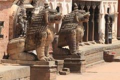 Temple City Bhaktapur Stock Image