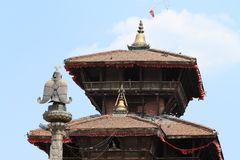 Temple City Bhaktapur Royalty Free Stock Image