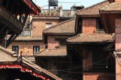 Temple City Bhaktapur Stock Photo