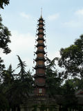Temple in the City of Guiyang, China Stock Image